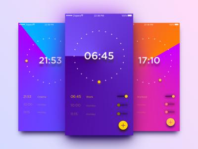 Daily UI #13_Alarm Clock