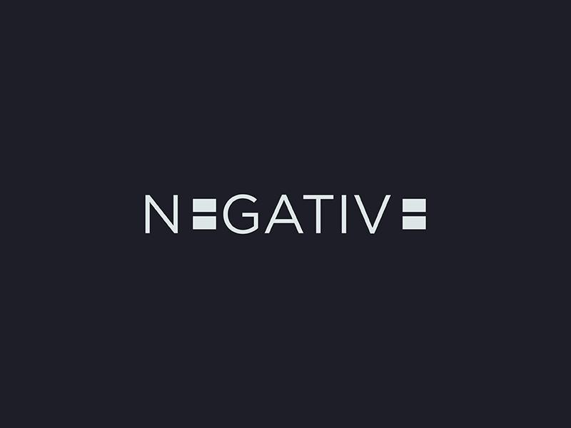 negative logo by andrea severgnini dribbble