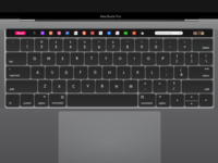 Muzli - Macbook Pro Touch Bar