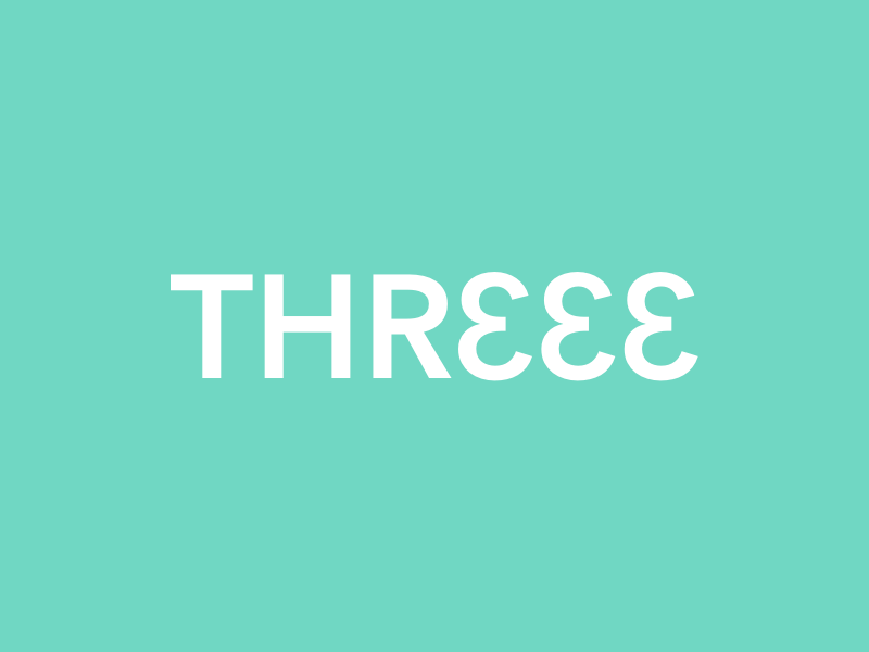 Three clever wordmark