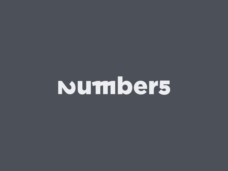 Numbers logo 1x