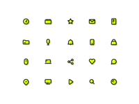 Basic Icon Set