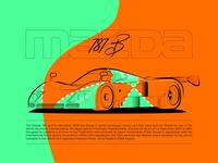Poster - Mazda 787b