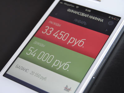 Financial Book iOS 7 update