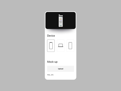 Mobile mockup concept mockup iphone device 3d mobile