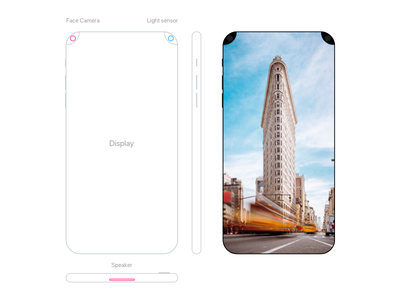 Want to leave it here another fake concept apple display iphone 8