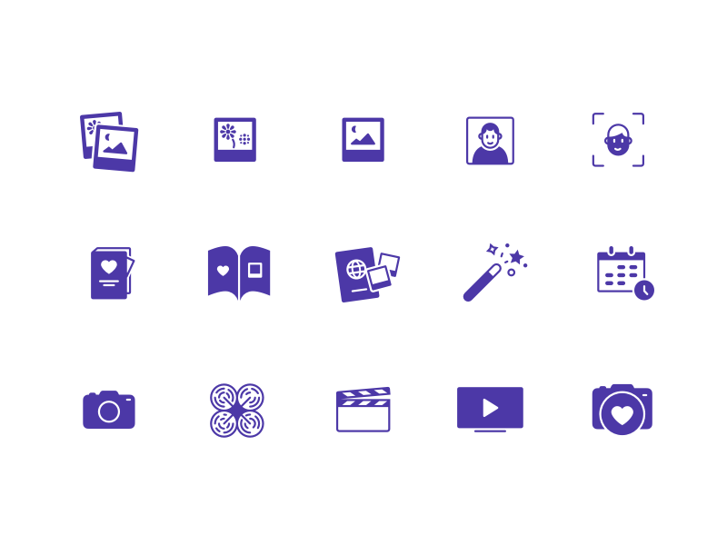Photograph icons open source interface standartio free icons