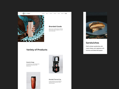 Sharikava. Product Page. sandwich brand product product page clear clean coffee cup coffeehouse coffeeshop coffee design drinks food desktop user interface ui web design web website