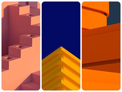 3D LeCor design colorful 3d c4d42 illustration