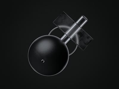 Black and White Diagonal shapes symmetry cinema4d c4d42 c4d 3d print illustration