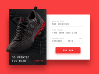 Credit Card Checkout - DailyUI #002
