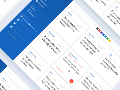 Google Fonts — Setting ui design uidesign ui settings page blue web deisgn web dailyui 007 settings material design user interface google fonts minimal material clear dailyui fonts font google