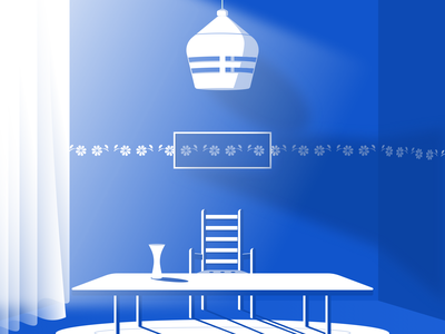 The Big Table wind light interior design decoration table