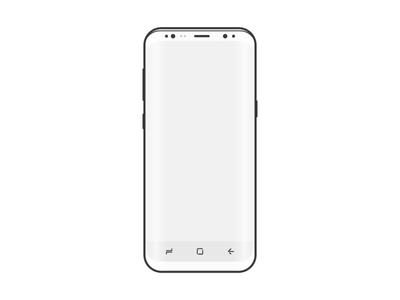 Free Samsung S8 Wireframe