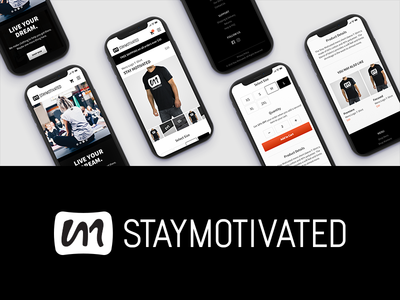 Stay Motivated Mobile Website