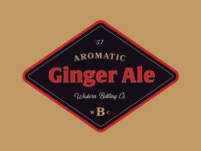 Ginger Ale Label