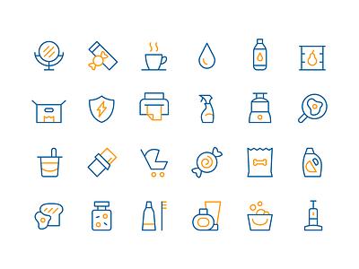 Profitero Icon Library ecommerce data branding illustration icons