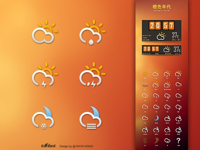 Weather Widget 3.0 All icons