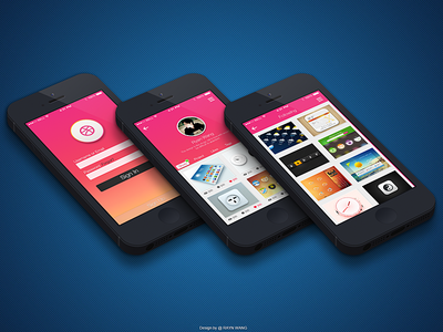 Dribbble APPS about Ryan 2.0