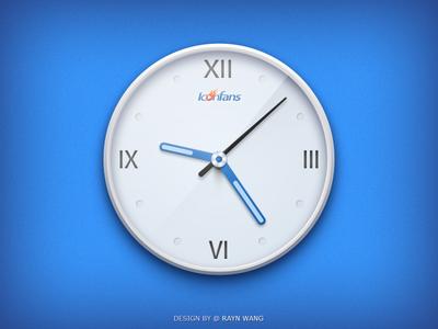 Clock - Iconfans Version