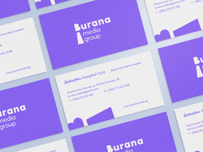Burana media group identity branding style identity design towe burana corporatestyle game brand vector character logotype corporate mark identity illustration design