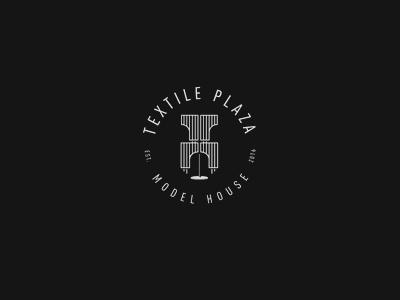 Dribbble texille plaza logo