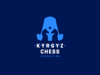 Kyrgyz Chess Federation Logo Re