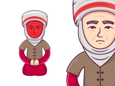 Kyrgyz Grandmother Angry