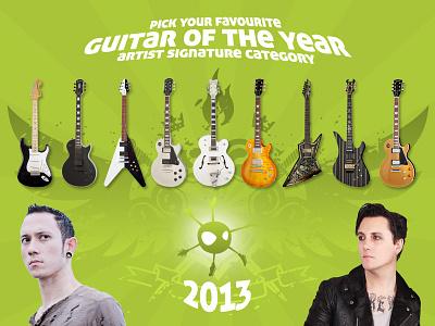 Guitar Planet guitar planet facebook promo photoshop guitars easypromos
