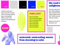 CSS Zen Garden: ~ POP ART EDITION! ~