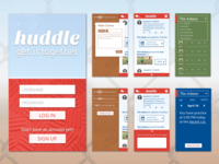 huddle - a rec sports app