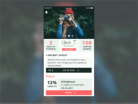 dailyui | profile