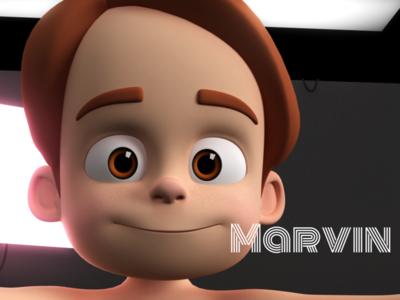 Marvin Stylised Boy Cartoon Character boy toon stylized stylised character design character cartoon 3d cartoon