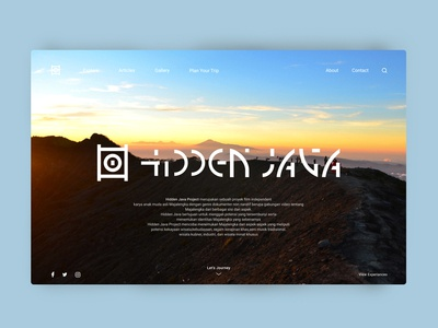 Hidden Java