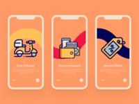 Pasta onboarding Mobile App