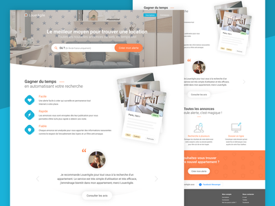 LouerAgile - Homepage