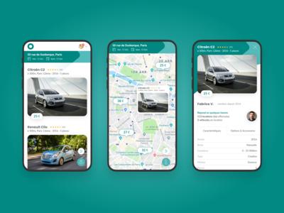 Car rental search 1/2