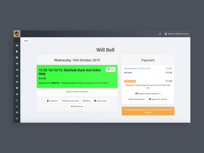 (1/4) Nearcut Checkout Redesign: Before