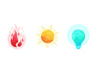 Icons for rebrand