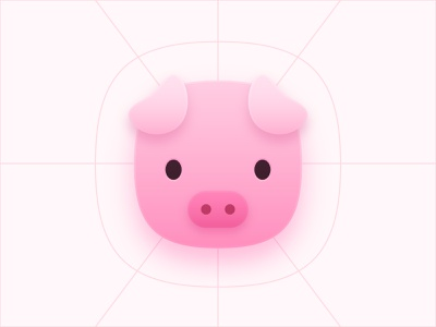 Receipt Hog Icon redesign design vector icon
