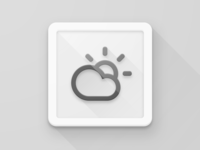 Material Design Icon: Smartisan Weather