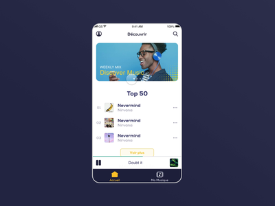 Micro interaction - Music streaming app music app ui music app music swipe left swipe right swipe app design application app ui micro interaction microinteraction