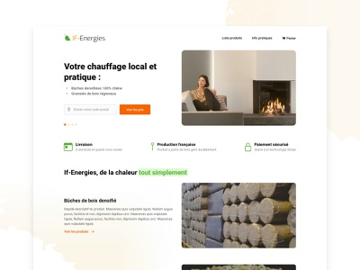 E-commerce - Home heating home page design homepage design home page homepage branding design web site webdesign web design website ui ecommerce design e-commerce design e-commerce ecommerce
