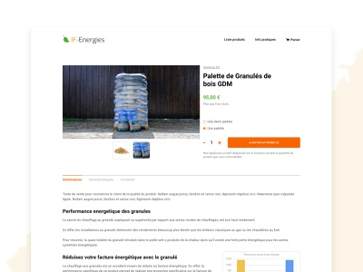 Product page | E-commerce design web site webdesign web design website ui product page product ecomerce ecommerce e-commerce