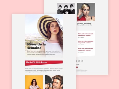 Template Email - Polydor Label
