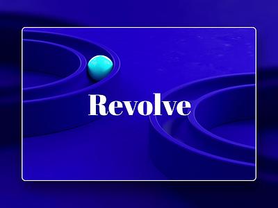 Revolve video background sphere circles infinite maxon cinema 4d looping infinite loop loop rotating ball cgi animation cgart octane cinema4d cinema 4d c4d