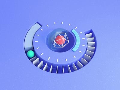 Infinite Energy spinning energy infiniteloop 3d sphere abstract concept clock rolling ball octanerender cgi cgart animation aftereffects octane cinema 4d cinema4d c4d