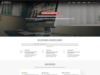 DIgital creative agency creative wordpress theme digital agency web design
