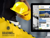 Magazine about construction and architecture architecture construction joomla magazine web design