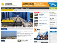 Magazine gradimo.rs architecture construction joomla magazine web design